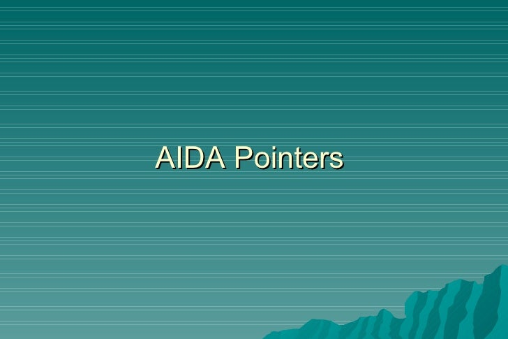 AIDA Pointers