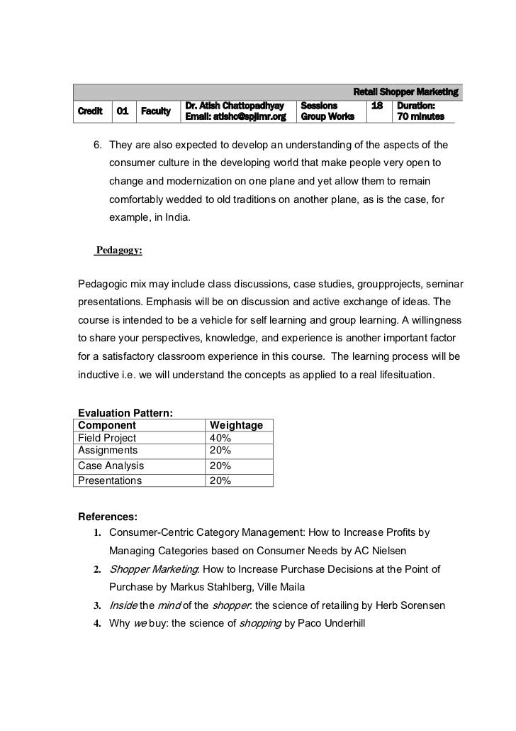 course outline mkt 620 Mkt 101 - marketing plans  a company's marketing plan is a document that outlines the overall marketing strategy,  listed in the course outline on or by the.
