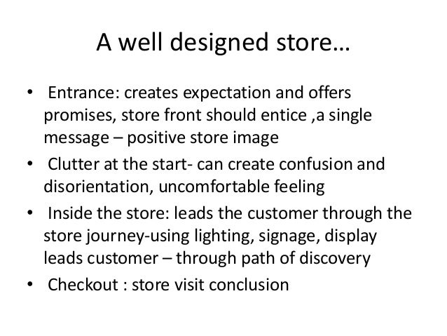 store layout and design essay When you open publisher, you'll see a catalog of templates to choose from to create a publication, select a template that is most like what you want your publication to be.