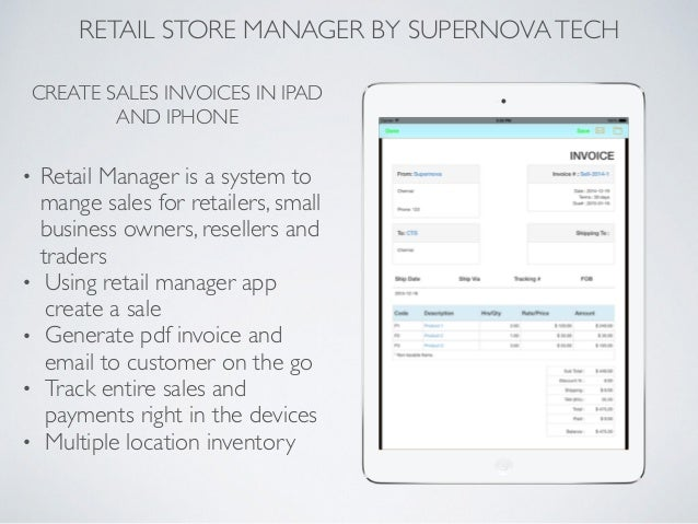 where is application manager on iphone retail manager app for iphone amp by supernova tech 19617