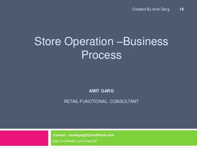Microsoft Dynamics RMS Store Operations Software