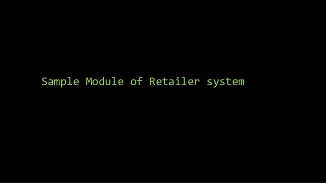 Retail store system(bsit16)prototyping