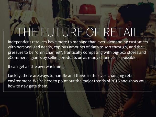 Retail Trends Report 2015 Slide 2