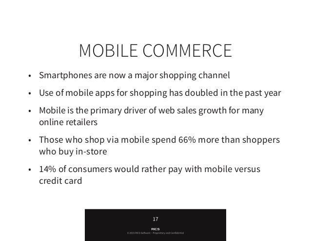 Is your business mobile friendly? You should consider having a mobile commerce solution so that you are attracting custome...
