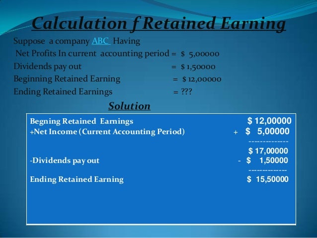 liquidating dividend retained earnings The branch profits tax is a branch-level tax on the repatriation of earnings, in the form of dividends there are certain rules to follow when liquidating or.