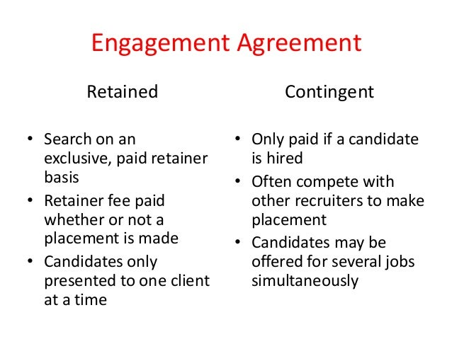The Pros And Cons Of Retained And Contingent Recruiting