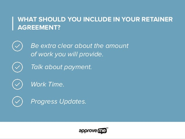 Retainer agreement template – Retainer Agreement Template