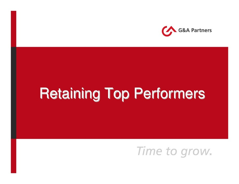 Retaining Top Performers