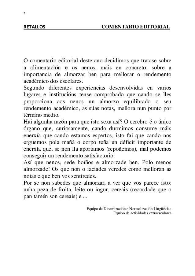 Retallos. nº 2. 2009 Slide 2