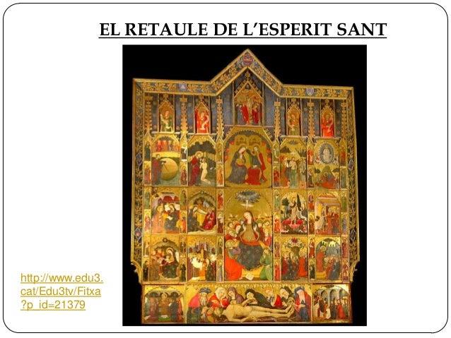 EL RETAULE DE L'ESPERIT SANT  http://www.edu3. cat/Edu3tv/Fitxa ?p_id=21379