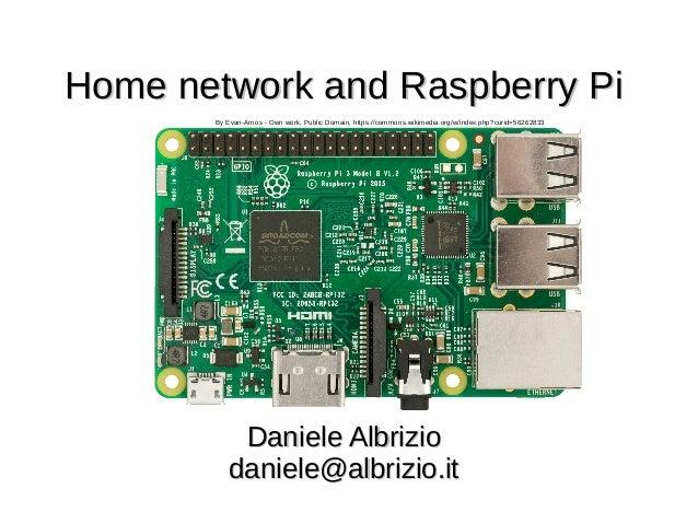 Rete di casa e raspberry pi - Home network and Raspberry Pi