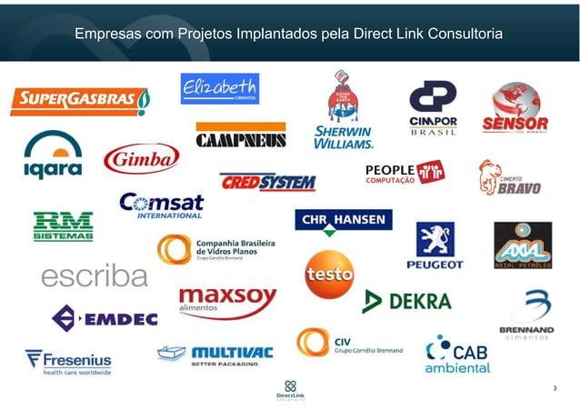 Empresas com Projetos Implantados pela Direct Link Consultoria 3
