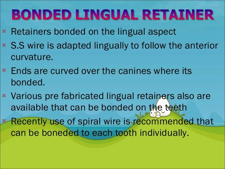 Retention and Relapse in orthodontics