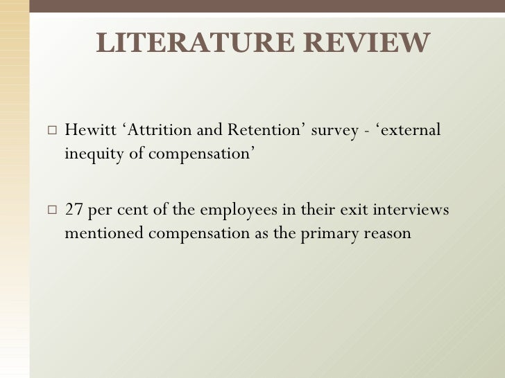 literature review on employee retention in private sector Sample of literature review on employee motivation and leadership  and their implication for employee retention within  private organisation or public sector), .