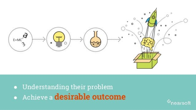 ● Understanding their problem ● Achieve a desirable outcome