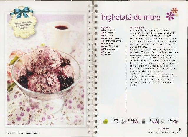 Inghetată rapidă cu căpşuni Ingrediente: • 500 g căpşuni • 400 g iaurt simplu, bine închegat • 3-4 linguri miere Pentru se...