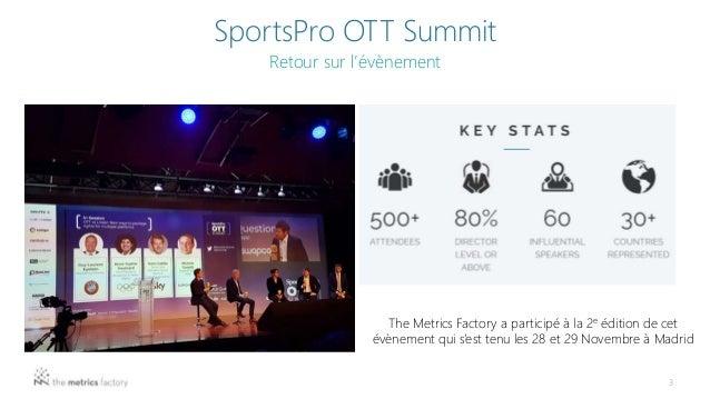 RETEX SportsPro OTT Summit Slide 3