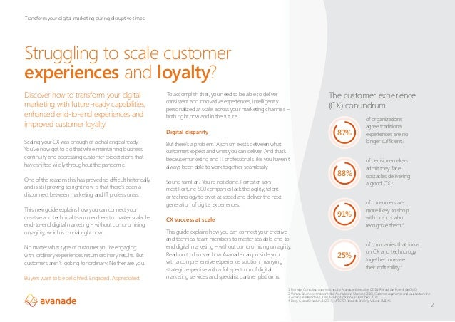 Rethink customer experiences and loyalty Slide 2