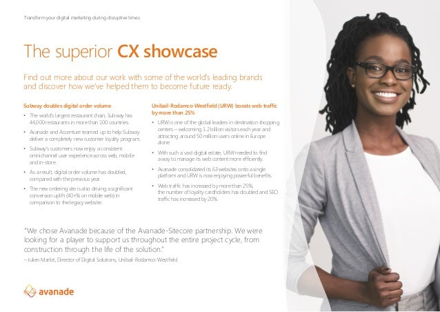 The superior CX showcase Find out more about our work with some of the world's leading brands and discover how we've helpe...