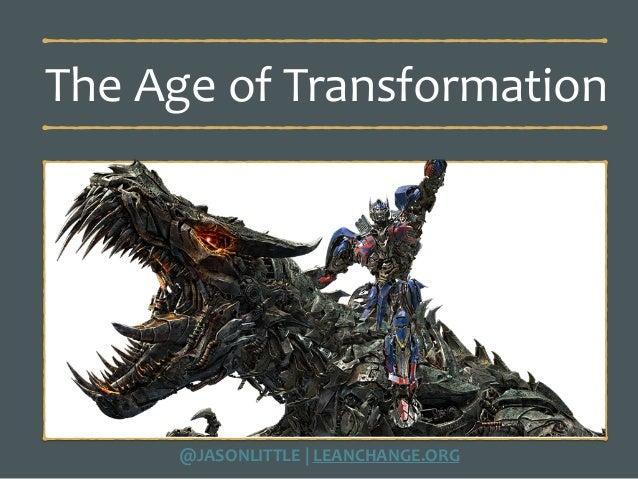 Rethinking Transformational Change Slide 2