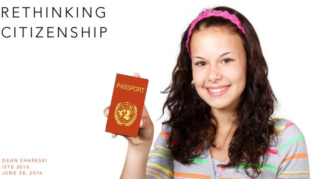 Rethinking digital citizenship Slide 2