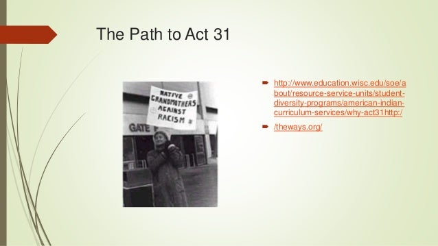 Access 2 Success for Native American Students in Higher Education  Pre service teacher preparation  Act 31 Website for P...