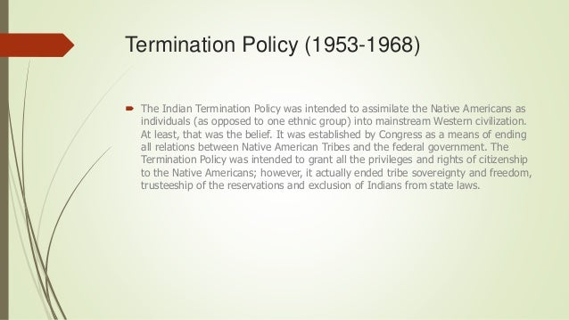 Self Determination Act (1975)  The Indian Self-Determination and Education Assistance Act of 1975 (Public Law 93-638) aut...