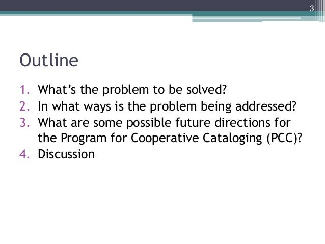 Rethinking Library Cooperatives: Prepared for the Program for Cooperative Cataloging Slide 3