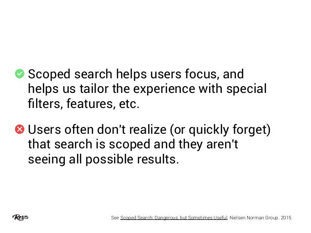Rethinking Search Results from a UX Perspective