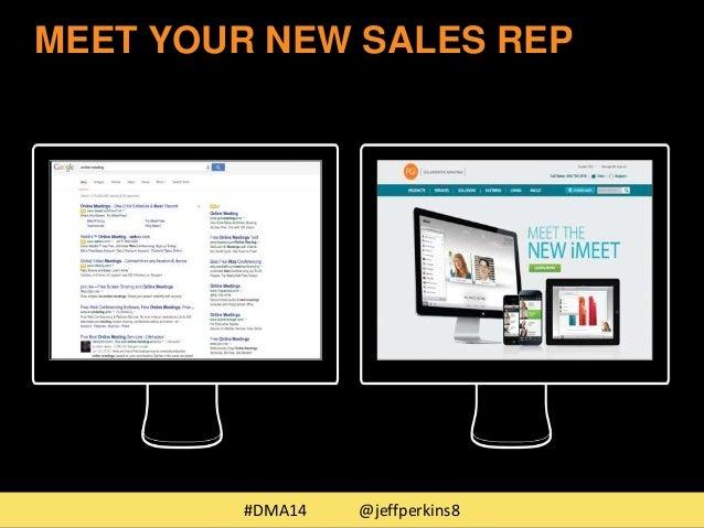 MEET YOUR NEW SALES REP  #DMA14 @jeffperkins8