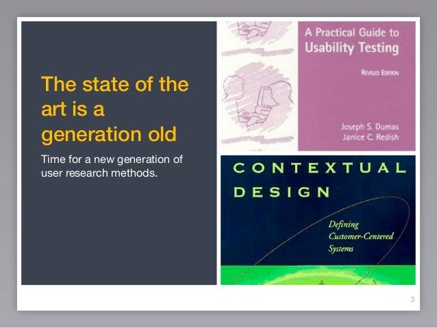 Rethinking user research for social web Slide 3