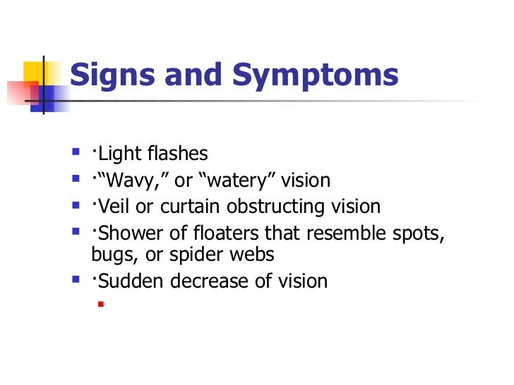 Eye Floaters Obstructing Vision