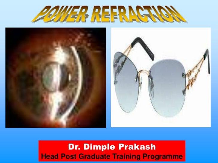 Dr. Dimple PrakashHead Post Graduate Training Programme