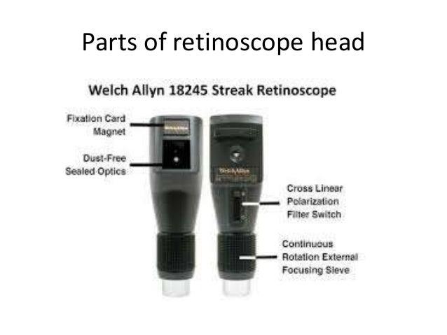 Retinoscope And Retinoscopy