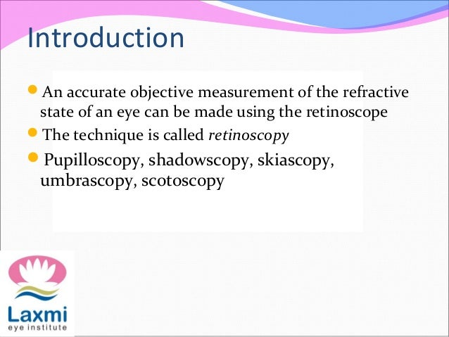 Retinoscopy and its principles Slide 3
