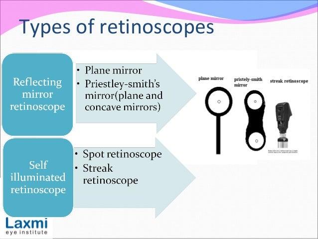 Types of retinoscopes