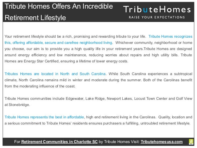 Affordable Retirement Living In North Carolina