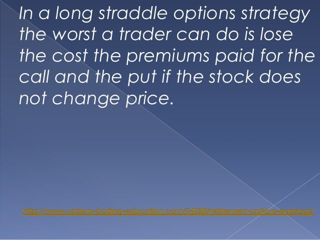Option trading earnings