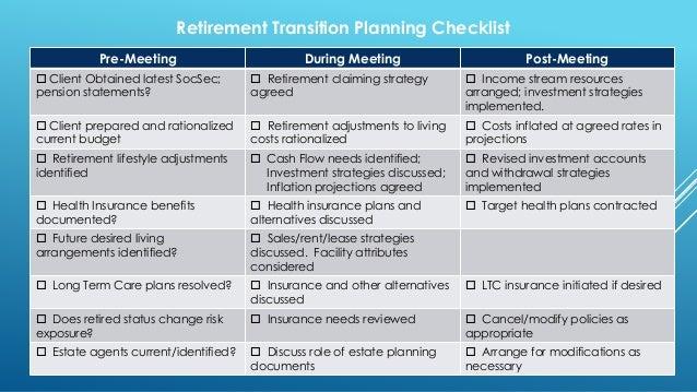 retirement checklist v 2