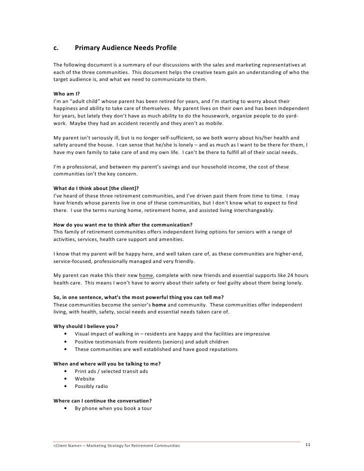 Senior home care marketing plan - Lark blog plan