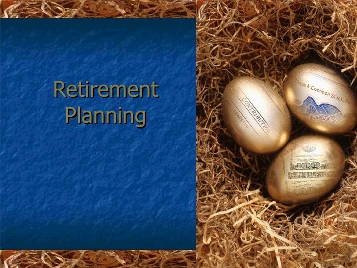 retirement powerpoint template