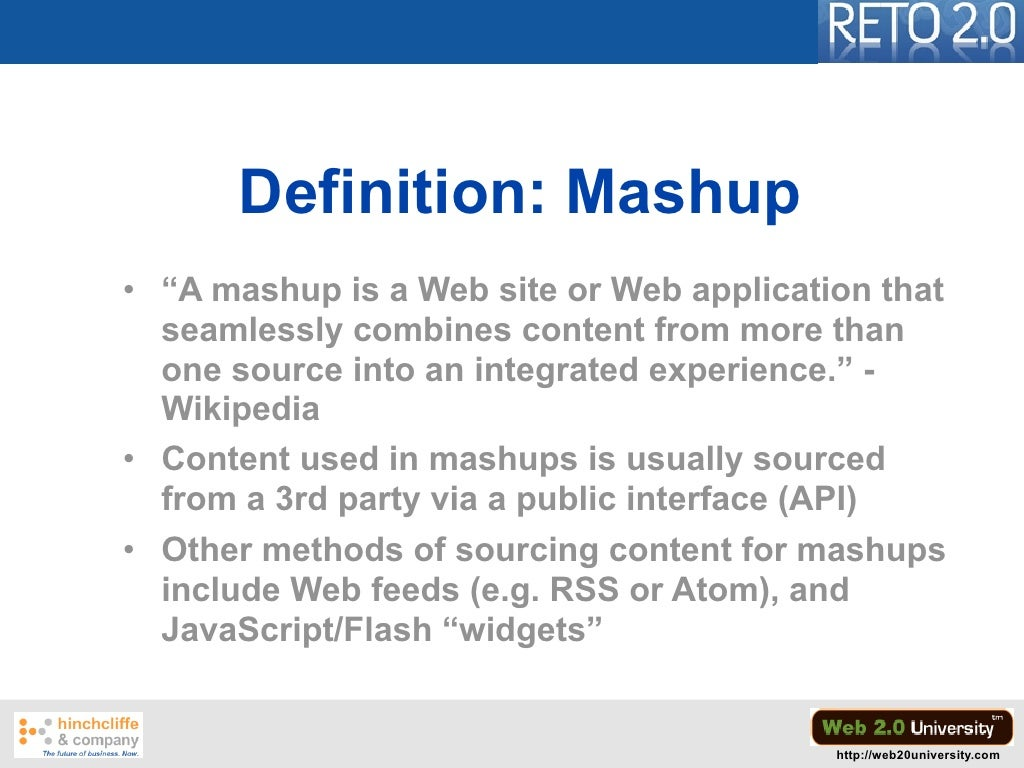 "definition: mashup • ""a mashup"