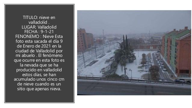 Título: la nieve en Poladura Lugar: Poladura Fecha: 12 de enero de 2021 Autor: yo Explicación: en Poladura todos los invie...