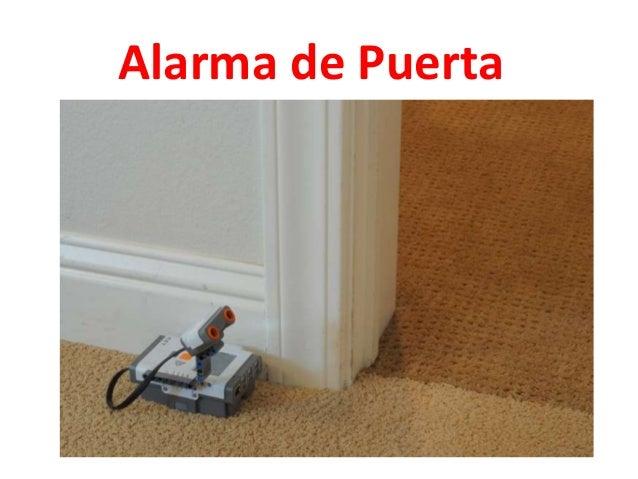 Reto alarma puerta nxt robot Slide 2