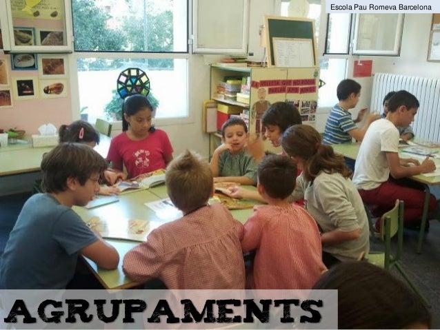 agrupaments Escola Pau Romeva Barcelona