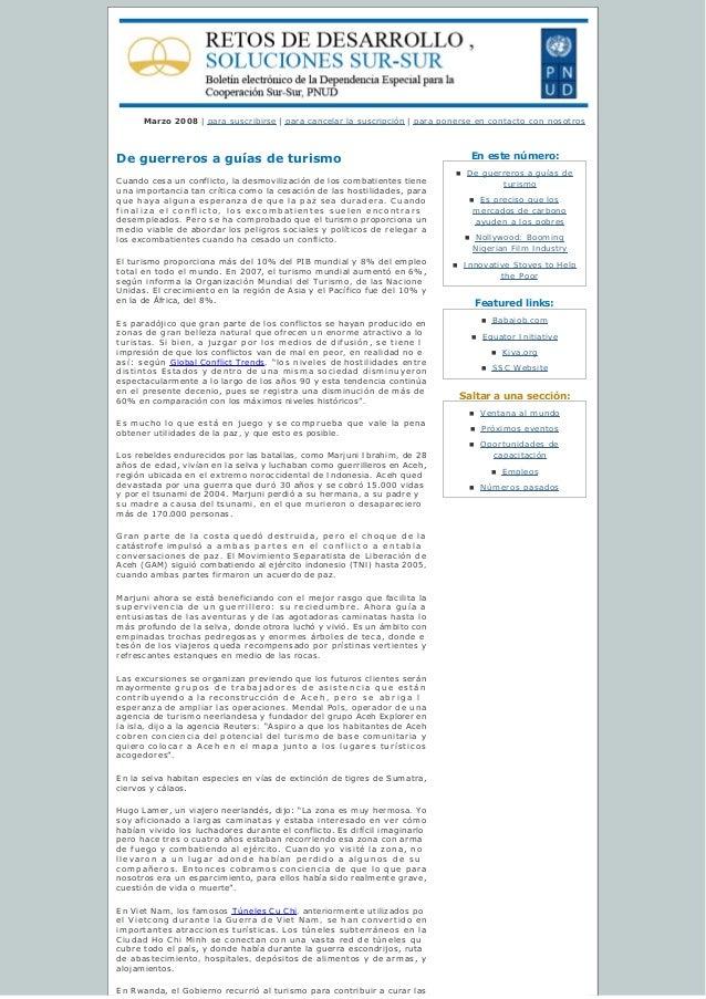 Enestenúmero: Featured links: Saltaraunasección: Marzo 2008 | para suscribirse | paracancelarlasuscripción | para ...