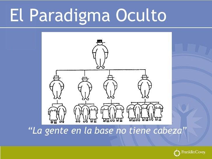 """El Paradigma Oculto """" La gente en la base no tiene cabeza"""""""