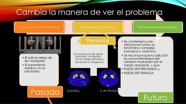 La adicción es una falla moral Naturaleza de la adicción Nueva generación protegida Cambia la manera de ver el problema •...