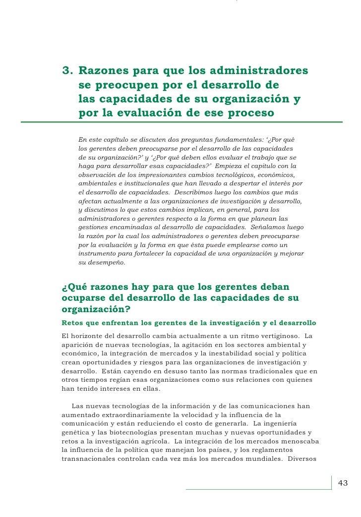 3. Recursos para administradores3.Razones para que los administradores  se preocupen por el desarrollo de  las capaci...