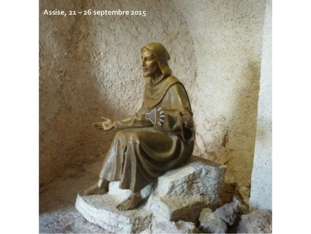 Assise, 21 – 26 septembre 2015